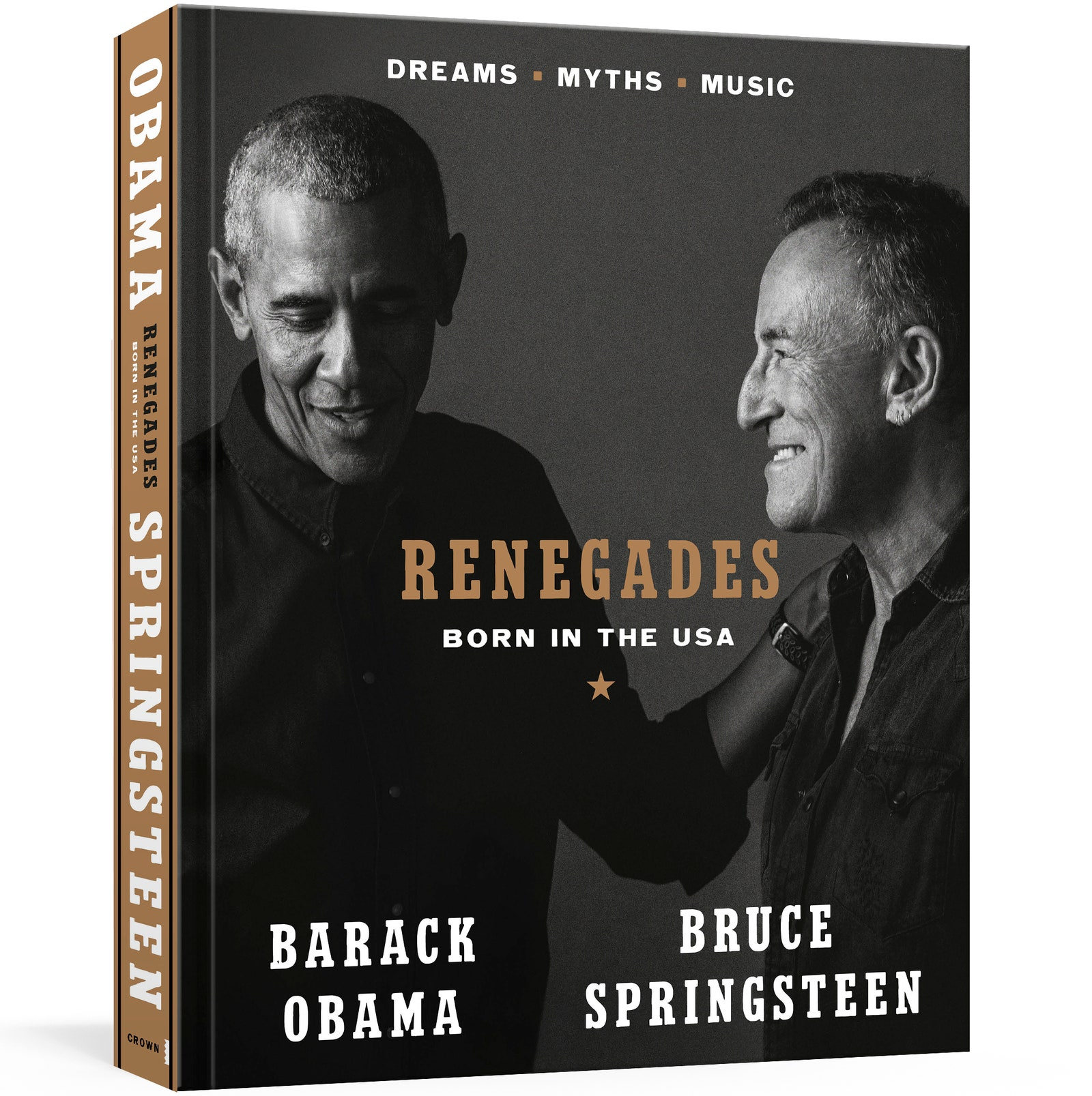 Bruce Springsteen and Barack Obama Are Publishing a Book
